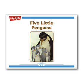Five Little Penguins Bedtime Story