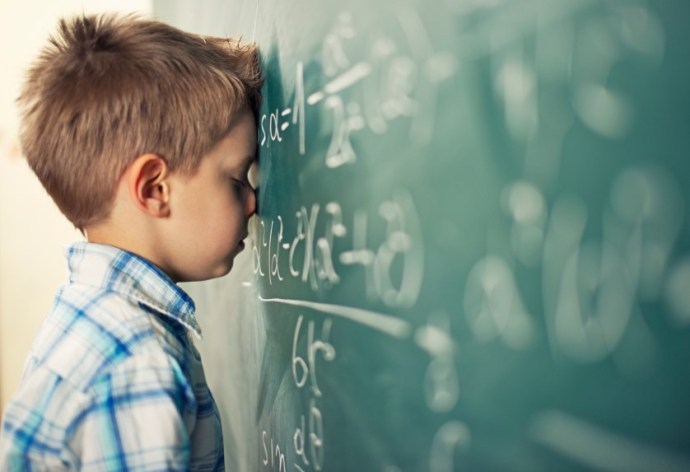 help child with maths anxiety