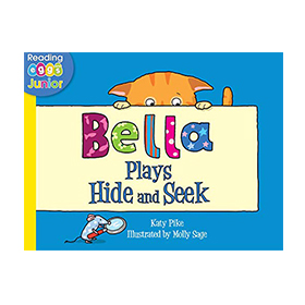 Cover of Bella Plays Hide and Seek ebook