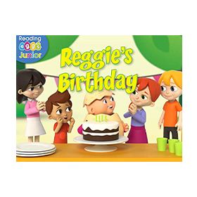 Cover from Reggie and Friends ebook