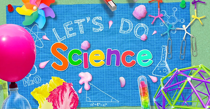 Screenshot of the new Let's Do Science video series title